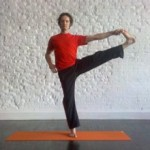 Hand foot pose