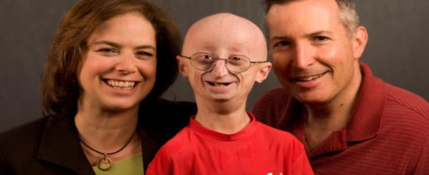 LIFE ACCORDING TO SAM: (L-R) Leslie Gordon, Sam Berns (Center), Scott Berns